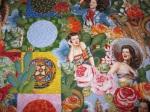 Detail of Fiesta Beauties, by Alethea Ballard; 2012