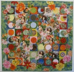 Fiesta Beauties quilt, by Alethea Ballard; 2012