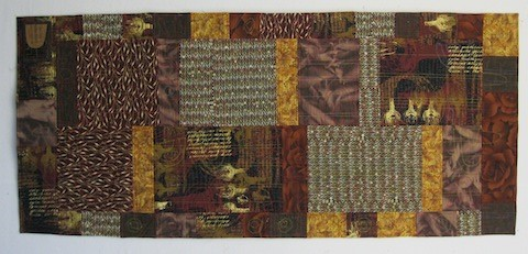The back of the Peet's Quilt, by Alethea Ballard; 2012