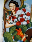 Las Senoritas, by Alexander Henry Fabric Collection
