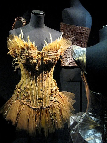 Wheat sheaf bustier