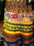 detail of Folklorico skirt