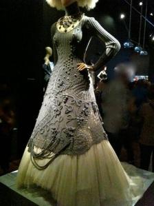 Crochet dress - front