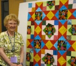 Rosemary's Angel Superstars quilt