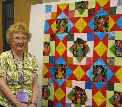Rosemary's Angel Superstars quilt
