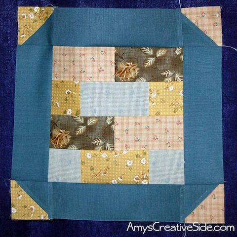 Amy Ellis' blogger's Bar QuiltAlong block