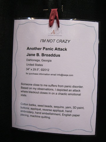 Another Panic Attack, by Jane P. Broaddus