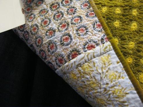 back detail of Three Views, by Carolyn Sullivan