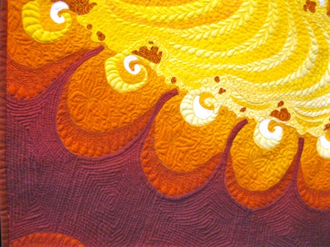 Detail of The Hues of Amber, by Karlyn Lohrenz