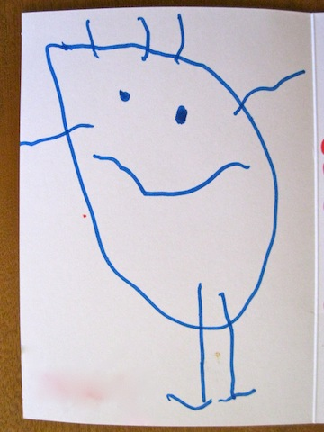 Alethea's birthday portrait, by D