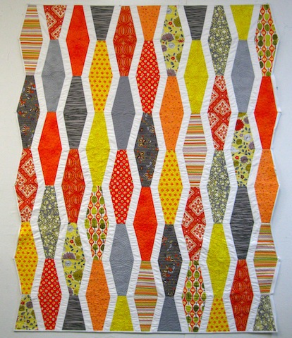 Thoroughly Modern Catherine's Quilt