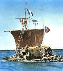 The Kon Tiki - not as big as the Turpentine Nosebleed