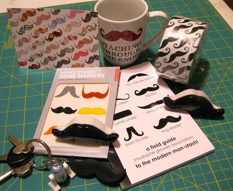 Mustache loot!