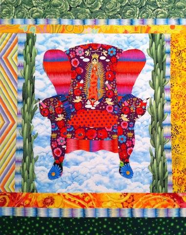 Guadalupe Chair - in progress, by Alethea Ballard, 2012