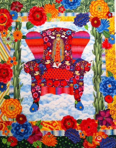 Guadalupe Chair, by Alethea Ballard, 2012