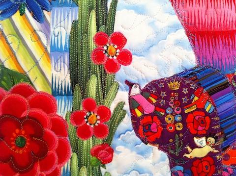 Guadalupe Chair detail, by Alethea Ballard, 2012