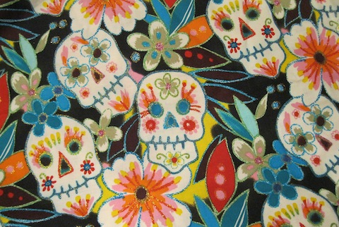 Azucar, fabric from Alexander Henry fabrics