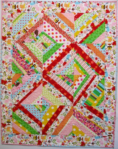 Zippidy Do Da Quilt, by Alethea Ballard; 2012