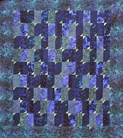 Fly By Blue, by Alethea Ballard; 2003