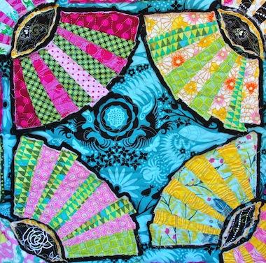 Detail of Pickle Dish-Ish, by Alethea Ballard; 2013
