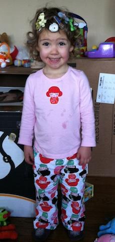 Pajama girl!