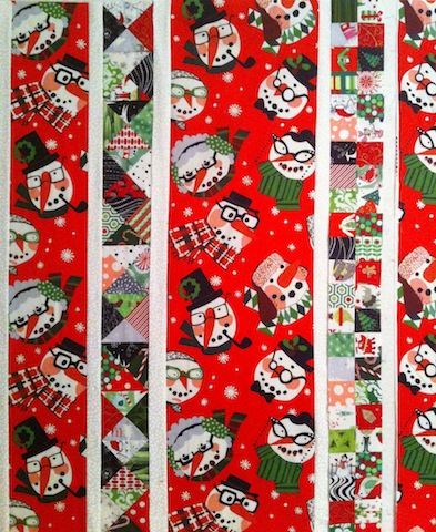 Silly Christmas quilt