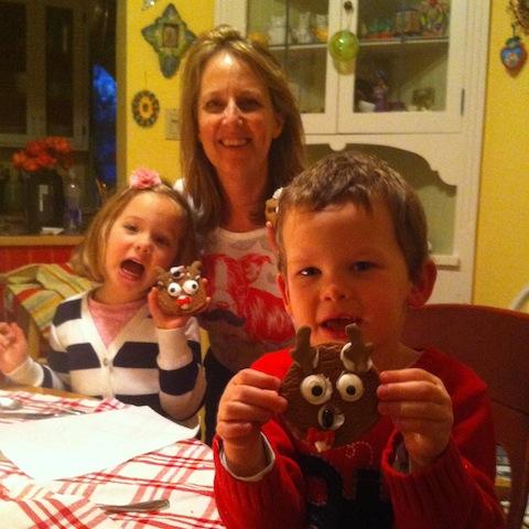 Reindeer cookie night!