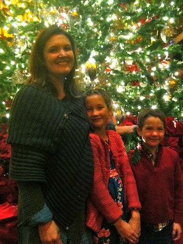 The other Alethea and my niece and nephew at the Nutcracker!