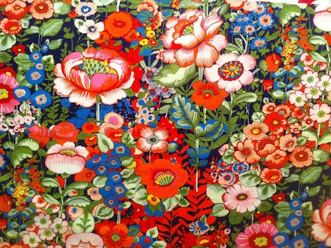 Alexander Henry fabric - flores de coyocan