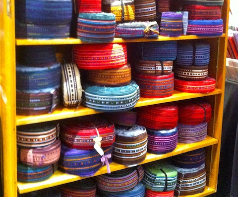 Appliqued ribbons