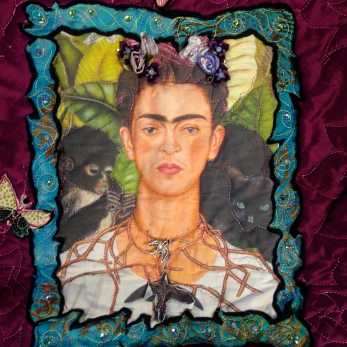 Margaret's Muse Quilt Center. Frida Kahlo