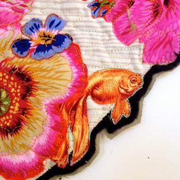 Poppy Wreath, right detail
